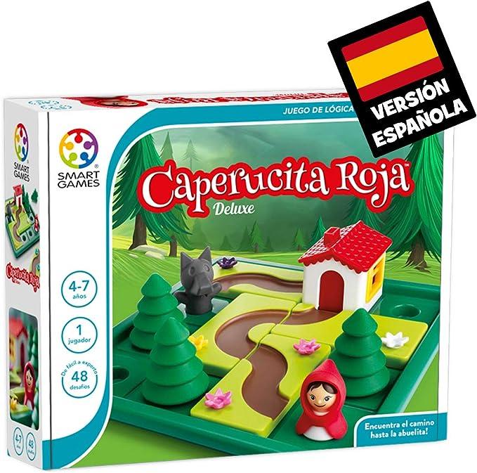 Games-SG021ES Smart Games Caperucita Roja Deluxe, Miscelanea (Lúdilo SG021ES): Amazon.es: Juguetes y juegos