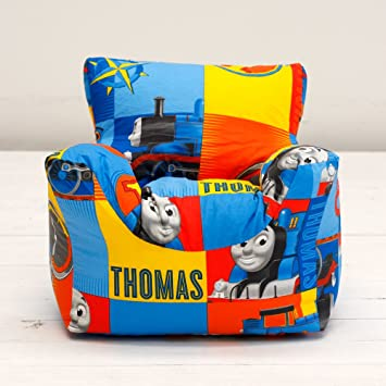 Thomas The Tank Engine Power Boys Character Bean Chair Beanbag Filled with Beans & Thomas The Tank Engine Power Boys Character Bean Chair Beanbag ...
