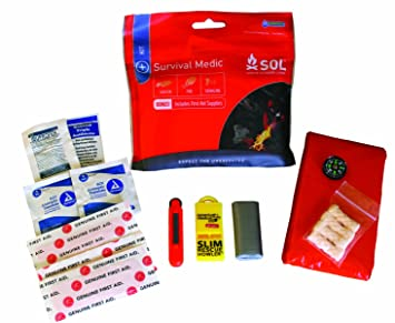 Amazon.com  S.O.L. Survive Outdoors Longer Survival Medic Kit ... ba94f326ab