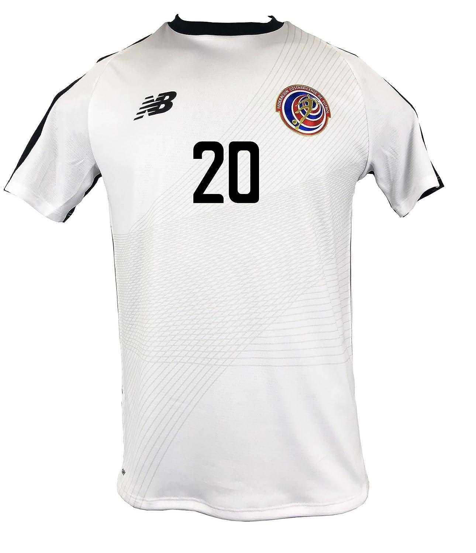 bb8ff70eb Amazon.com  New Balance D. Guzman  20 Costa Rica Away Soccer Men s Jersey  FIFA World Cup Russia 2018  Clothing