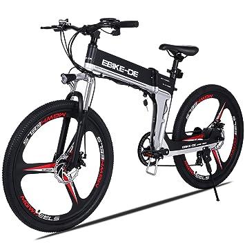 mymotto 26 Pulgadas Exterior 250 W Alta Velocidad Eléctrica Bicicleta de Montaña Aleación de Aluminio 36