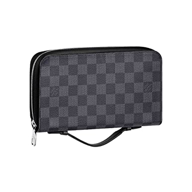 8c3d2605c8cb9 Image Unavailable. Image not available for. Color  Louis Vuitton Damier  Canvas Portafoglio Zippy XL Wallet ...