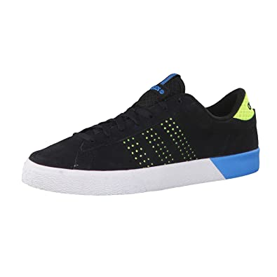 brand new 5aa7a 0bc6e new style adidas neo mens trainers black core black solar yellow solar  blue2 s14 90b4e a4e86