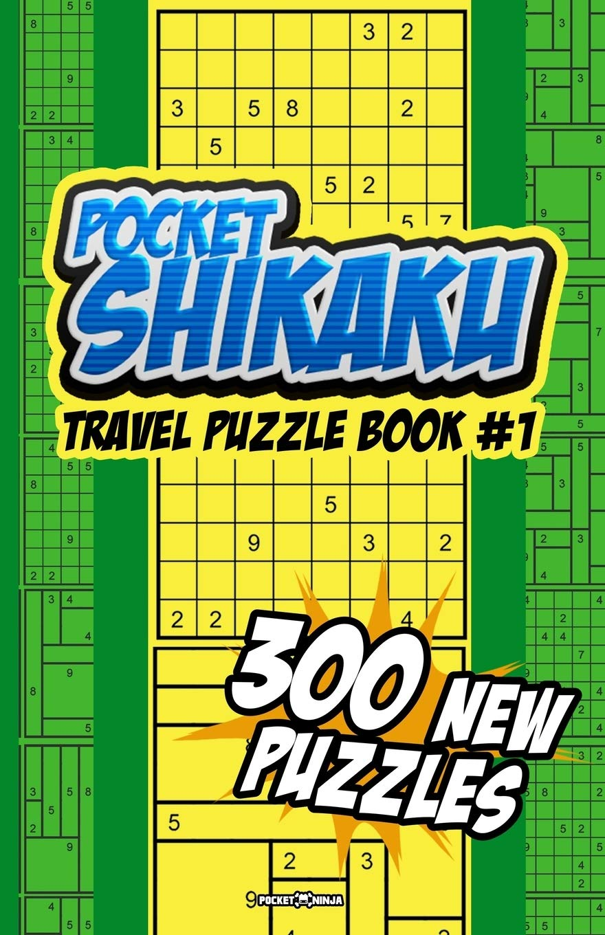 POCKET SHIKAKU: Travel Sized Math Challenge and Fun Puzzle ...