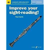 Improve Your Sight-Reading! Clarinet, Levels 1-3 (Elementary): A Progressive Sight-Reading Method (Book & Online Audio)