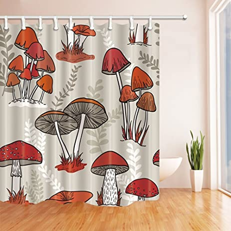 amazon com nymb watercolor flowers shower curtains for bathroom