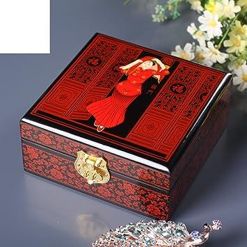 Boîte à Bijoux Laque Peint Fournitures De Mariage