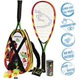 Speedminton S600 Set - Original Speed ​​Badminton / Crossminton Starter Set including 2 rackets