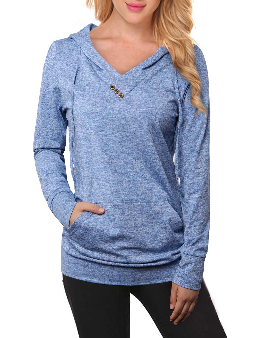 MOOSUNGEEK Tunic Hoodie,Women 2017 Boutique Form Fitted Pullover Sweatshirt