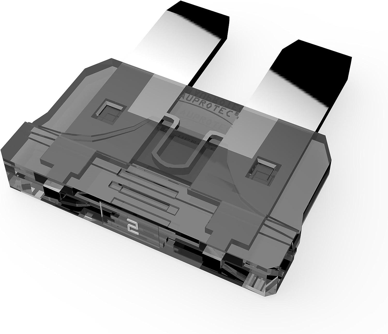50 St/ück 25A Ampere wei/ß 40A Stecksicherung Schmelzsicherung Auswahl AUPROTEC Standard ATO Flachstecksicherung 1A
