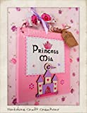 Princess Door Sign Personalised with Any Name Handmade Lilac & Pink Castle Hand-Painted
