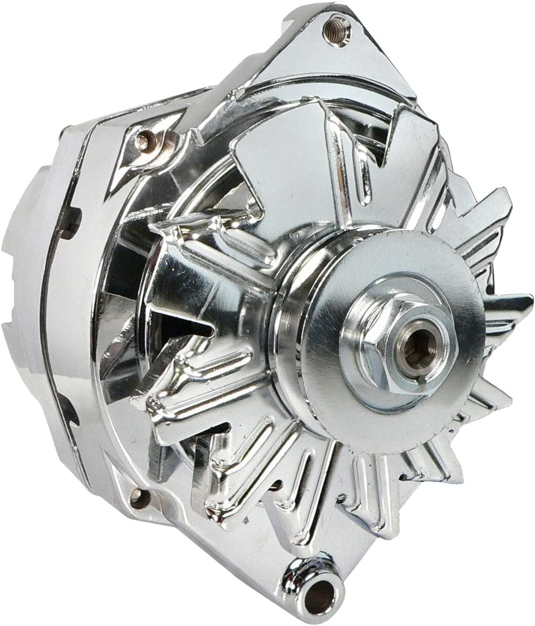 Chevy 110 Amp chrome 12SI One-Wire 65-85 DB Electrical ADR0242-C Alternator