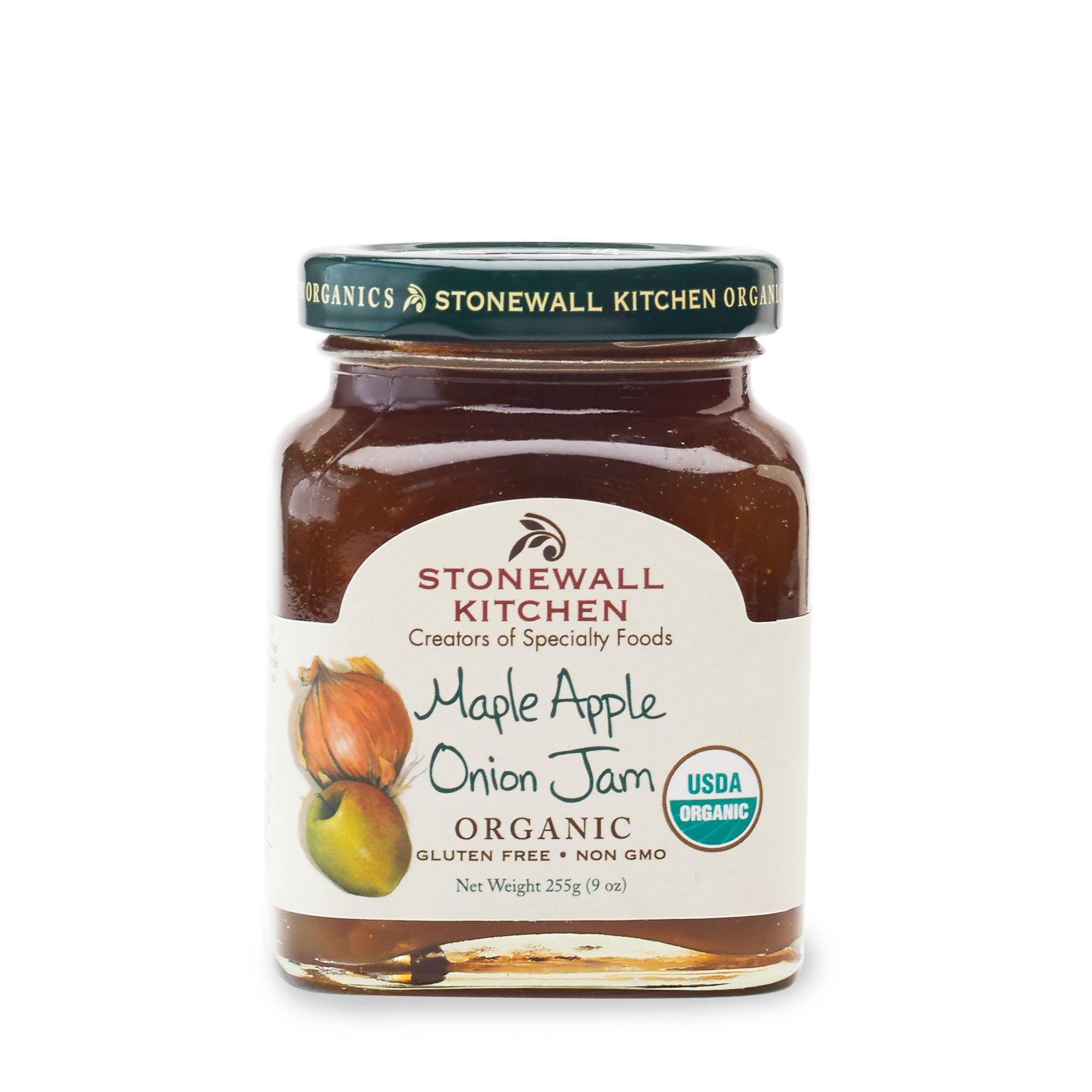 Stonewall Kitchen Maple Apple Onion Jam, 9 Ounces