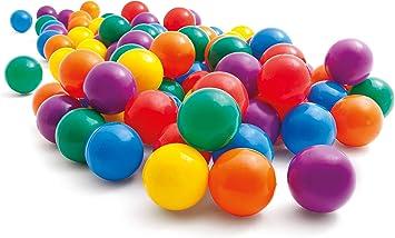 Intex 49602NP - Pack 100 bolas multicolor de 6,5 cm diámetro ...
