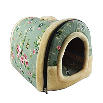 Amazon.com: Renze 2 en 1 Pet Casa y el sofá para mascotas ...