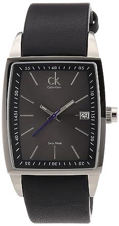 Calvin Herren Armbanduhr K3041107 New Square Klein Bold sdtxhQrC