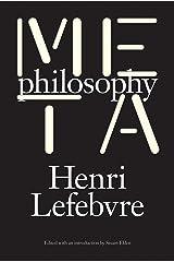 Metaphilosophy Kindle Edition