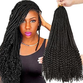 com vrhot 6packs 20 dess faux locs crochet hair braids