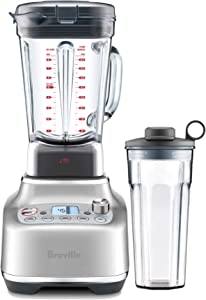 Breville BBL920BSS Super Q Countertop Blender, Brushed Stainless Steel