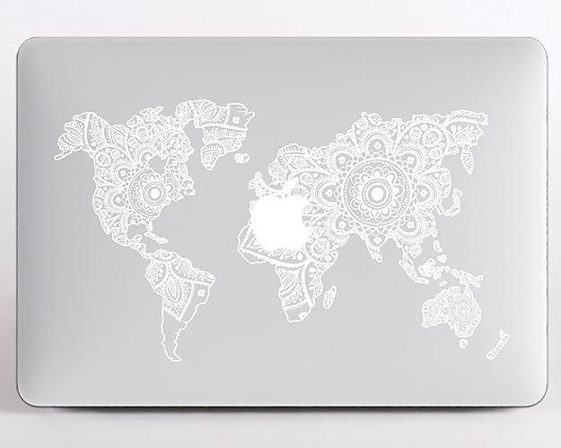 Amazon modo design mandala world map macbook pro 13 case a1706 modo design mandala world map macbook pro 13 case a1706 a1708 newest release 2017 gumiabroncs Images