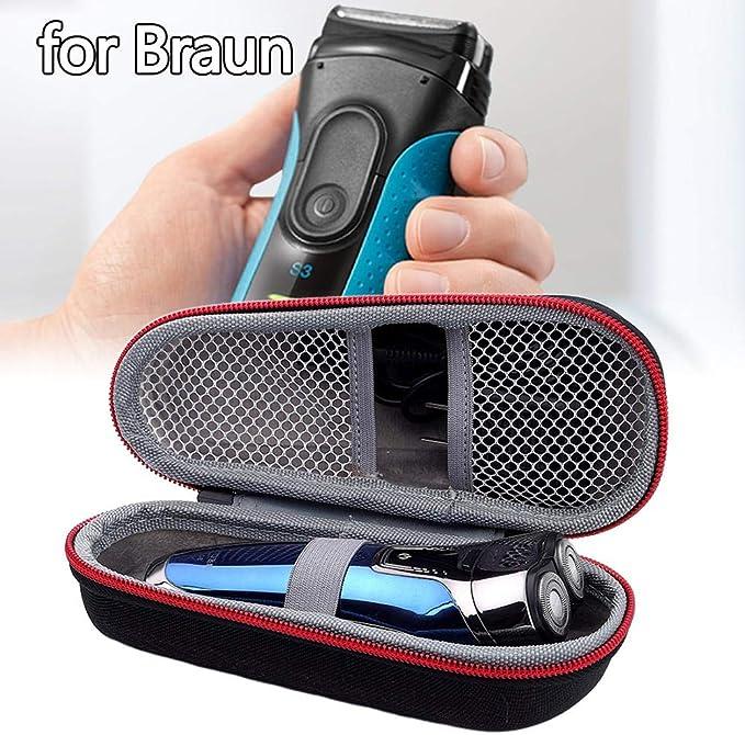Greatideal Estuche Rígido De Viaje para Braun Braun Series 3, 3040s 3010BT 3020 3030s 300s Series 5 5030s 5147s 5090cc 5050cc Series 7 7789cc, 7840s, 799cc, 790cc: Amazon.es: Hogar