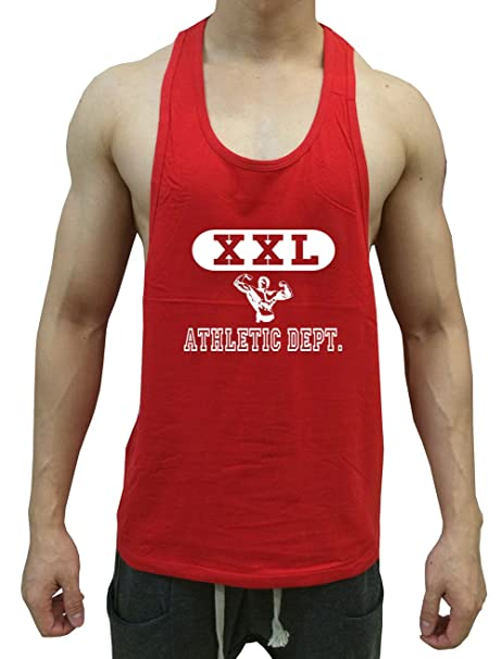 2b34bcfd Amazon.com: Tough Cookie's Men's Y Back Muscle Man XXL Printed Muscle Tank  Top: Clothing
