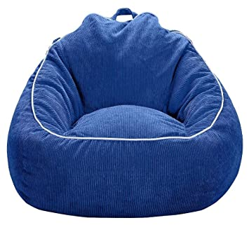 Superieur XL Corduroy Bean Bag Chair   Pillowfort (1 Bag, Blue)