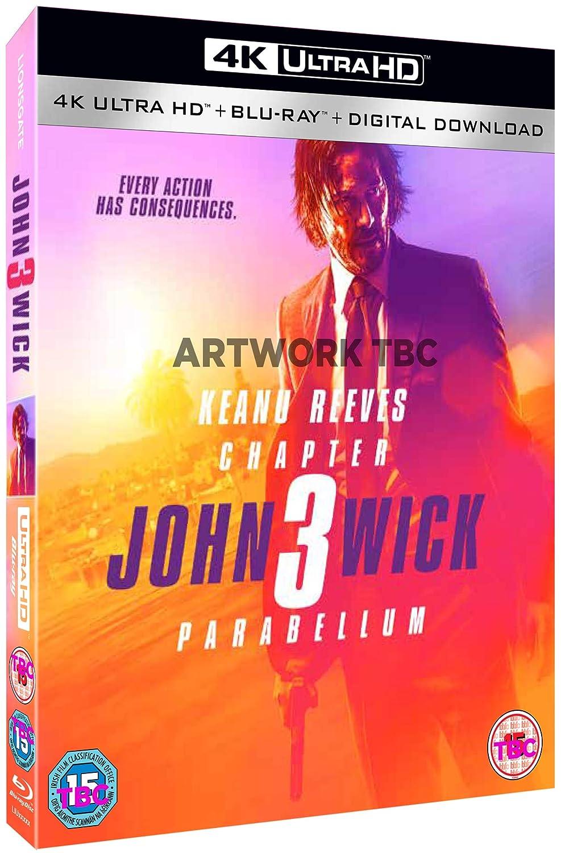 Amazon com: John Wick: Chapter 3 - Parabellum 4K [Blu-ray