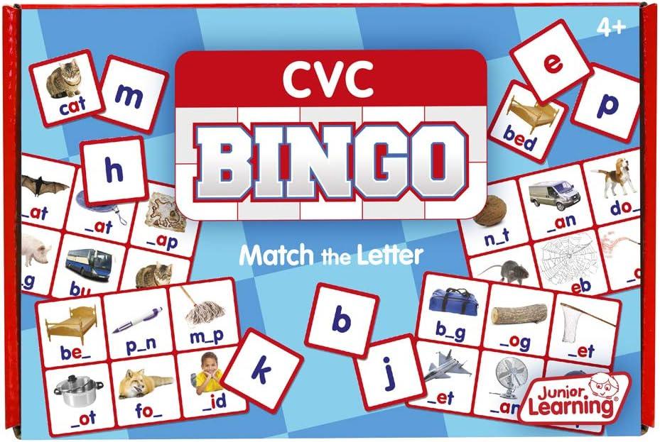 Junior Learning JL544 Bingo Educativo: Amazon.es: Juguetes y juegos