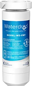 Waterdrop XWF Refrigerator Water Filter, Replacement for GE XWF Refrigerator Water Filter