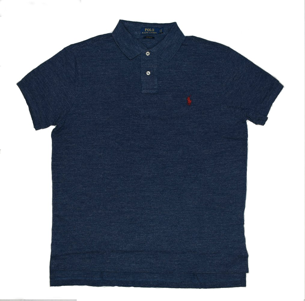 3550ac950feb4 Galleon - Polo Ralph Lauren Men Custom Fit Mesh Polo Shirt