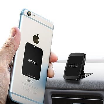 Kit de soporte magnético para teléfono celular para automóvil WUTEKU | Funciona en todos los vehículos