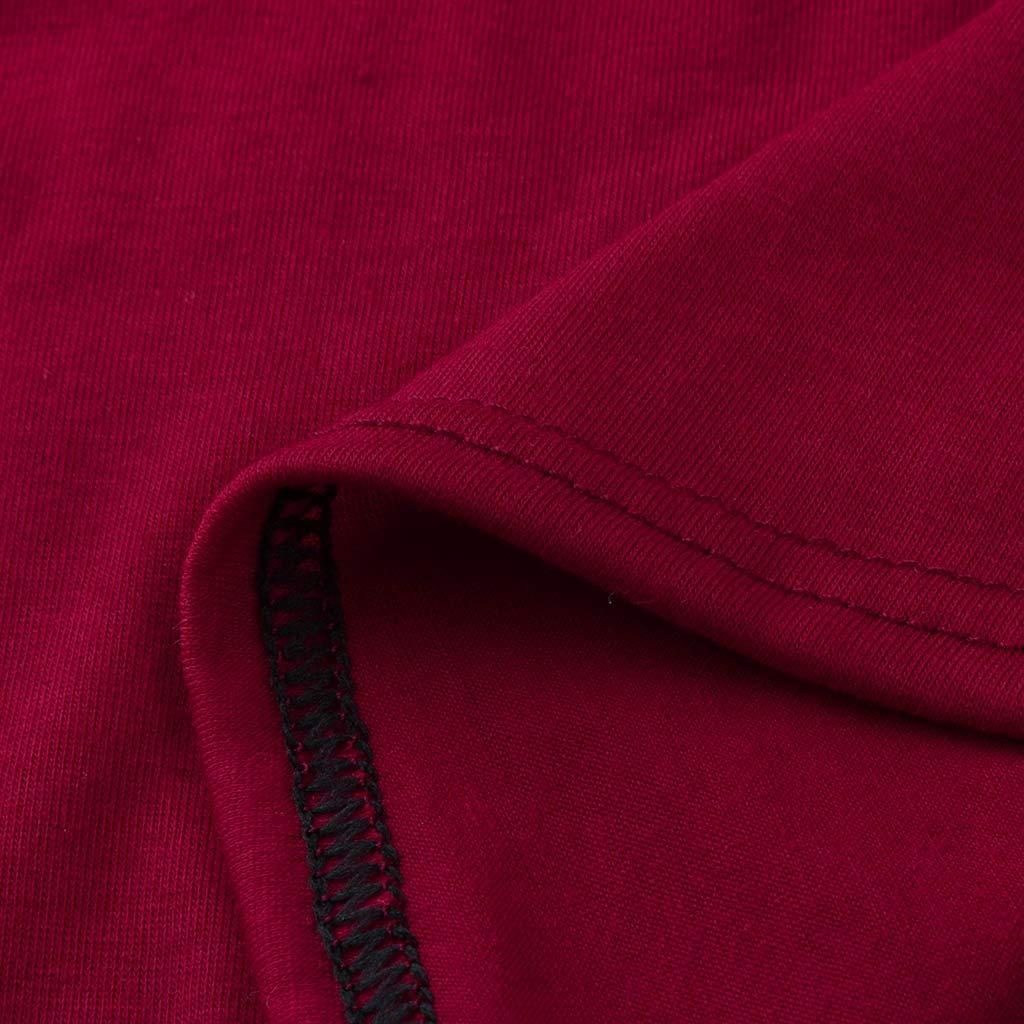 Mitlfuny Ropa premam/á Camiseta Maternidad Mujeres Mam/á Embarazada Enfermer/ía Lactancia de Maternidad Manga Larga Cosiendo Doble Capa Blusa Suelto Tops Primavera Verano amamantar Camisa