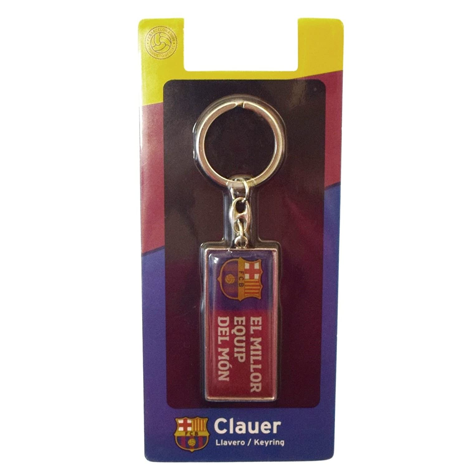 Amazon.com : FC Barcelona Metal Keyring MIL : Sports & Outdoors