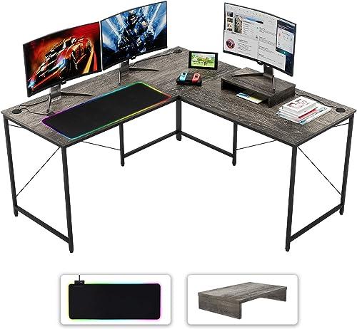 Deal of the week: Bestier L-Shaped Computer Desk