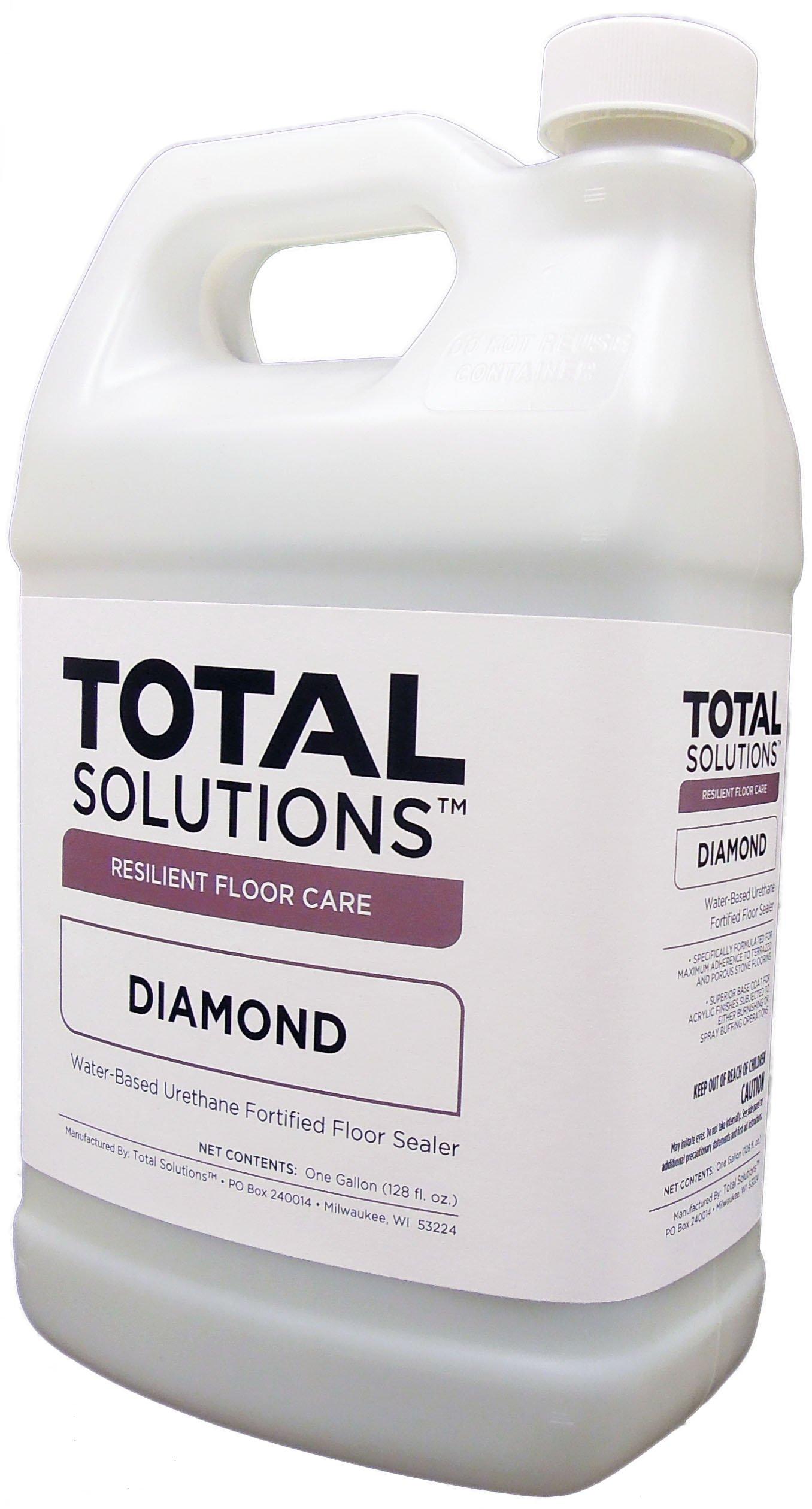 Diamond- Terazzo Finish, Water-based urethane finish & sealer - 4 Gallons