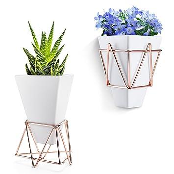 Blumentopf Modern blumentopf hängend wand vase blumentopf deko kankei 2 in 1