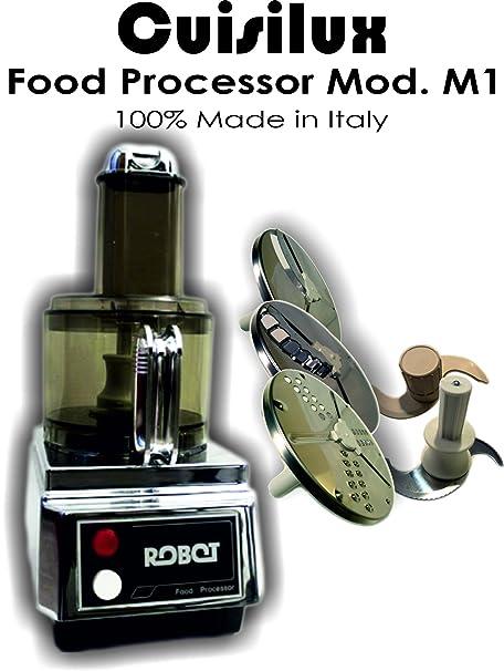 cuisilux metalblock Food Processor Mod. M1 (Modelo Base): Amazon ...