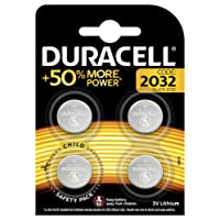 Duracell Specialty 2032 Lithium Coin Battery (Pack of 4)