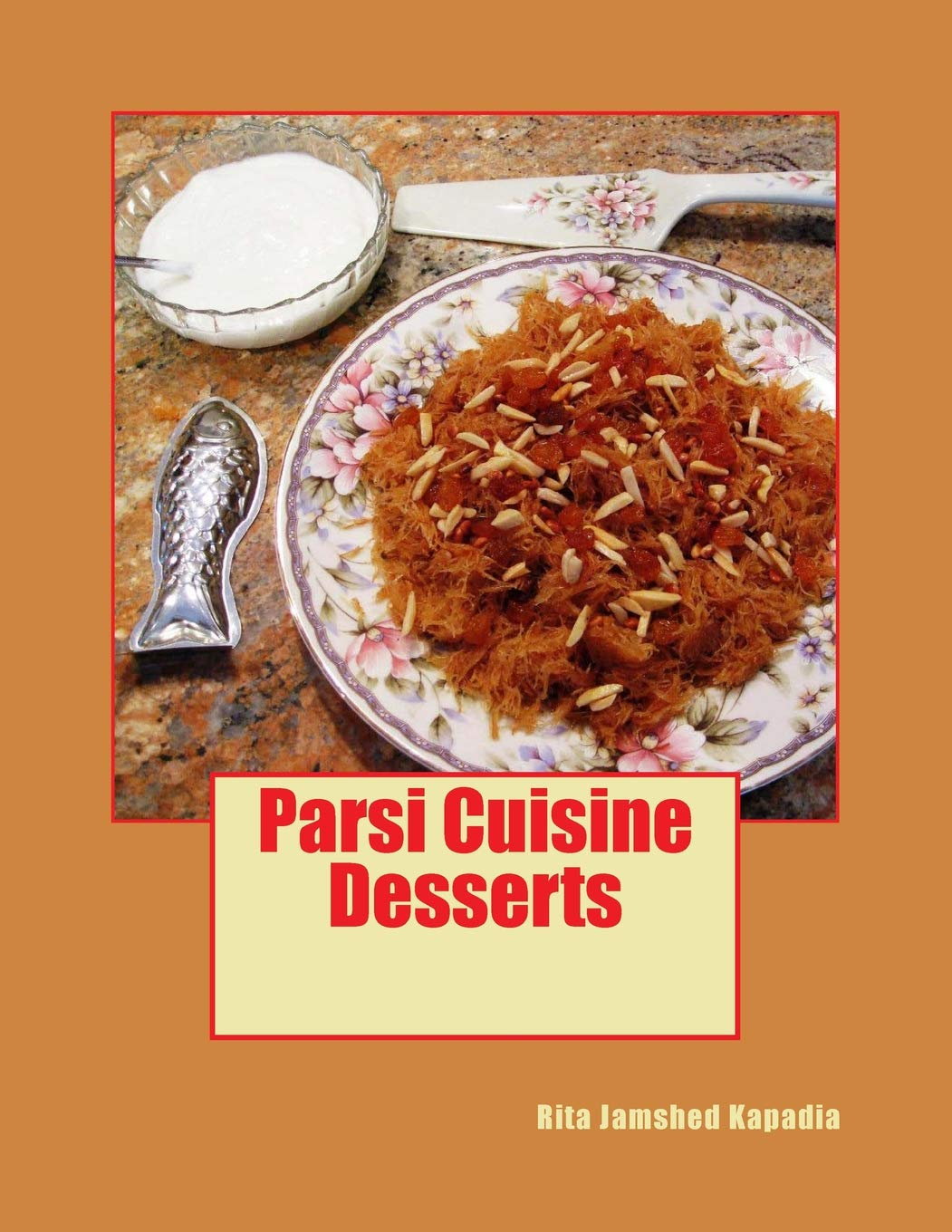 Desserts: Sweet and Savory Desserts, Breakfast and Snack recipes Sweet and Savory Desserts, Breakfast and Snack recipes are featured in this volume. Indian Parsi Customs, Traditions and historical background is given wherever appropriate.  Sev, Dudh ni Sev, Malido, Bhakhra, Nankhatai, Parsi Popatji / Popatjee, (Dutch c