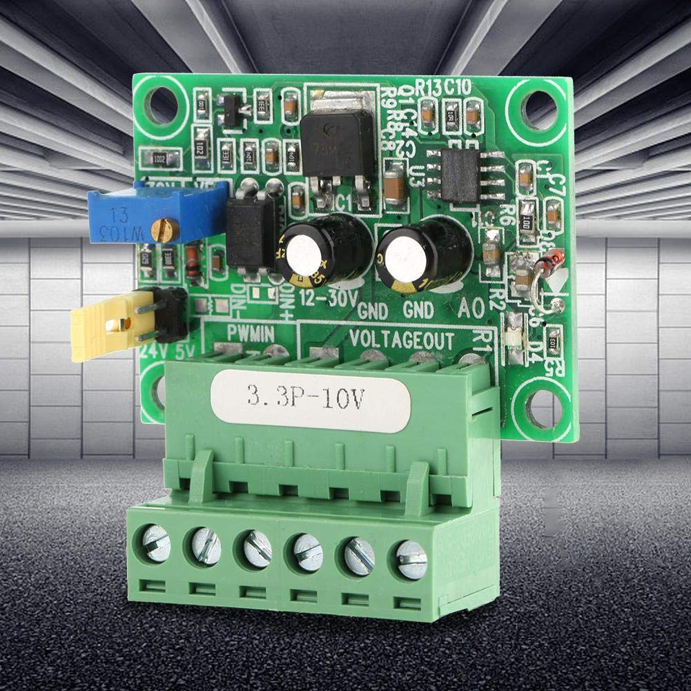 Liukouu 3,3 V PWM-Signal an 0-10 V Spannungswandler D//A Digital-Analog-SPS-Modul