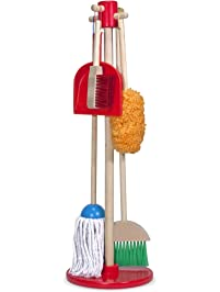 Melissa & Doug, Let's Play House! Dust! Sweep! Mop! Pretend Play Set