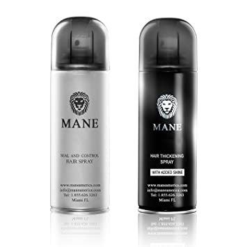 Mane America Hair Thickener Spray Combo (200ml) (Blonde)