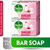 Dettol Skin Care Anti-bacterial Bar Soap 120gm (2+2)