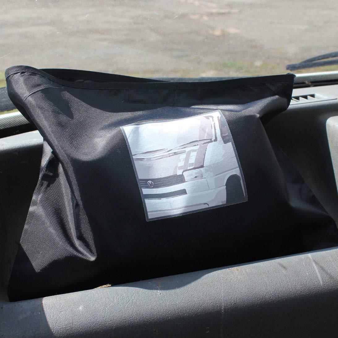 Fuel Lagoon T4 Protector de Pantalla para Ventana de Furgoneta Color Negro