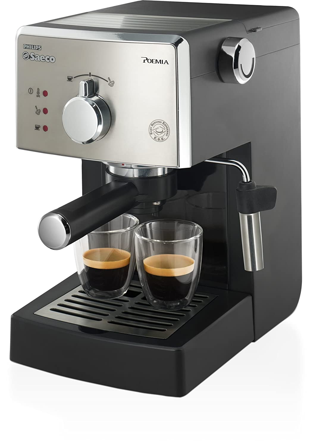 Philips Saeco Poemia - Cafetera espresso manual