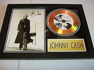 Johnny Cash dédicacé disque d'or