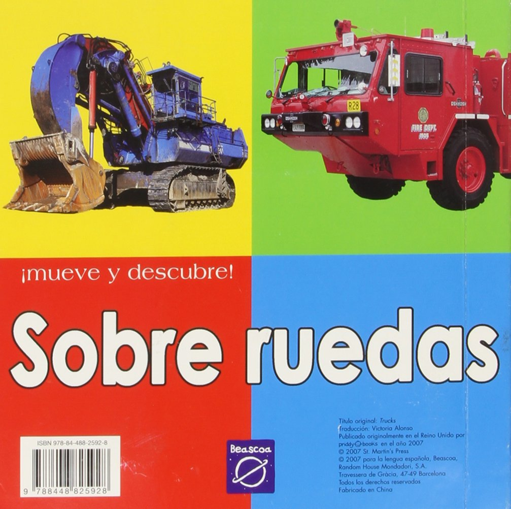 Sobre ruedas/ Trucks (Spanish Edition): Victoria Alonso: 9788448825928: Amazon.com: Books