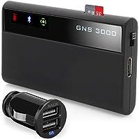 GNS 3000 MFI iPhone iPad iPod incl. autolader Bluetooth GPS-ontvanger met micro-USB-slot