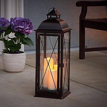 Amazon.com : Smart Living Salerno 27-Inch Triple LED Candle ...